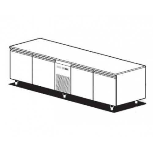 Холодильный стол для ресторанов ATLAS PLUS THM/220S