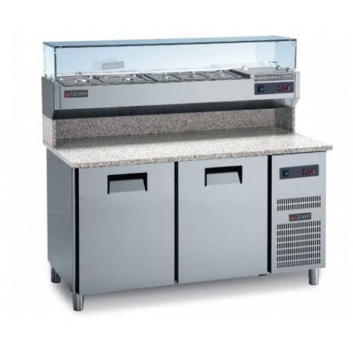 Холодильный стол для пиццы NEW SMART SFF/712G