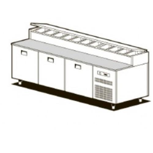 Холодильный стол для пиццы NEW SMART SFF/820I
