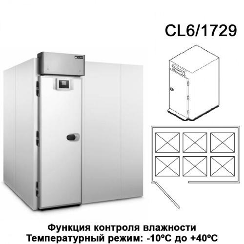 Камера для расстойки теста PLANET CL6/1729