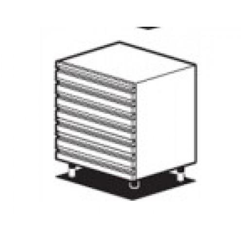 Нейтральный модуль с 7 маленькими выдвижными ящиками