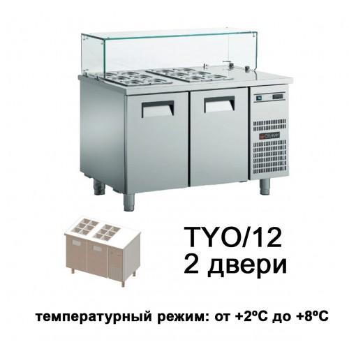 Холодильный стол для йогуртов YOGURT TYO/12