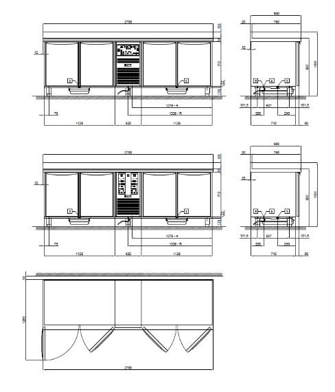 Схема модели TALHC/27S серии PLANET